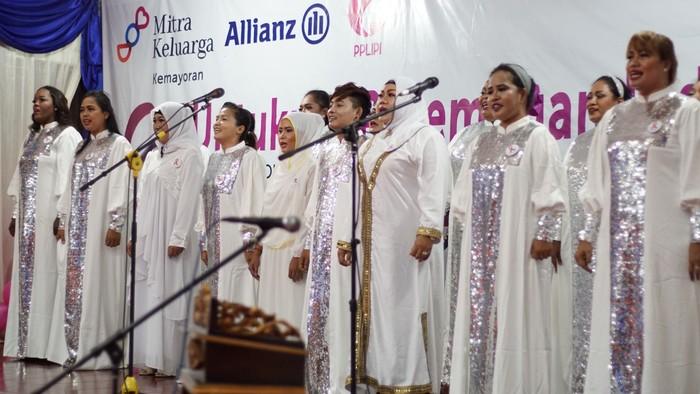 Nggak nyangka! Ternyata penyanyi paduan suara ini adalah tahanan wanita di Lapas Perempuan IIA Tangerang. (Foto: Annissa Widya Davita / detikHealth)