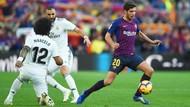 Barcelona Unggul 2-0 atas Madrid di Babak Pertama El Clasico