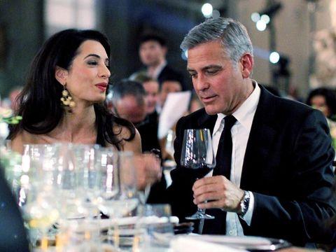 Tampil Menawan, George Clooney dan Istri Saling Puji Penampilan