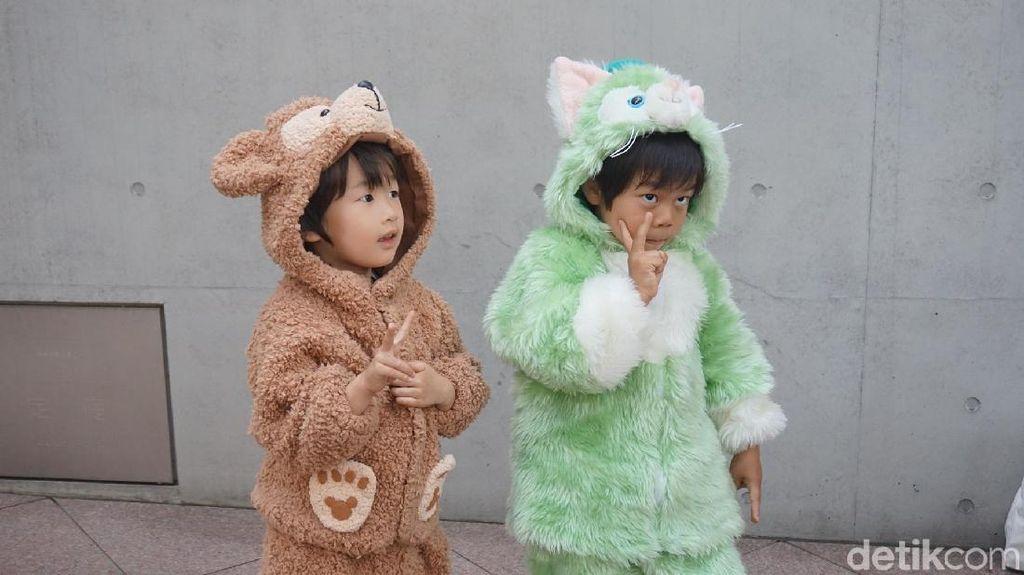 Bikin gemes! Ratusan Anak Parade Kostum Halloween di Harajuku