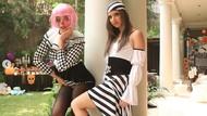 Adu Gaya Seksi Nia Ramadhani dan Jedar Pakai Kostum Halloween
