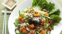 Resep Salad : Salad Lettuce Rumput Laut Pok Pok
