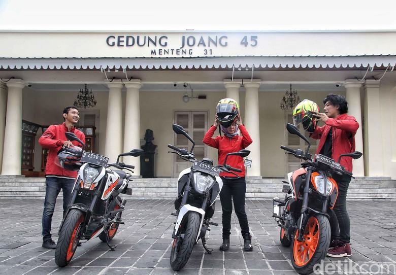 Road Warriors Jelajah Museum Jakarta-Surabaya. Foto: Pradita Utama