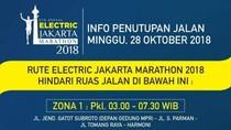 Ada Jakarta Marathon 2018, Ini Ruas Jalan yang Ditutup