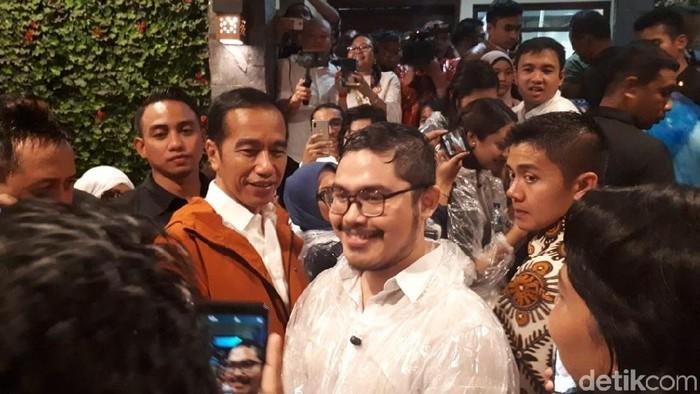 Foto: Jokowi dan Milenial Peringati Sumpah Pemuda di Bogor (Andika-detikcom)