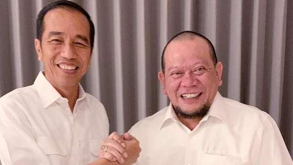 La Nyalla: Saya Bukan Timses, Hanya Ingin Tebus Dosa ke Jokowi