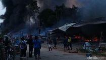 Pasar Skouw di Perbatasan RI-PNG Terbakar