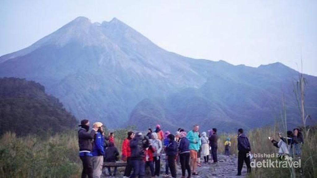 Menikmati Pagi di Lereng Gunung Merapi Yogyakarta