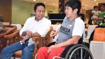 Rommy Peringati Sumpah Pemuda Bersama Atlet Disabilitas