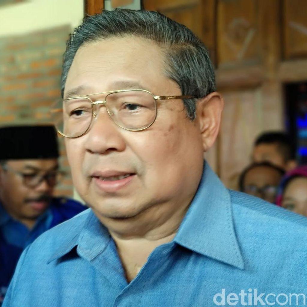 SBY Perintahkan Kader Tarik Diri dari Gerakan People Power