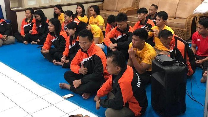 Tim angat besi Indonesia. (Foto: dok.Ist)