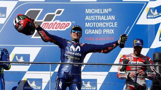 Kemenangan Maverick Vinales di MotoGP Australia dianggap Rossi belum cukup jadi modal Yamaha untuk bersaing dengan Ducati dan Honda di musim depan.