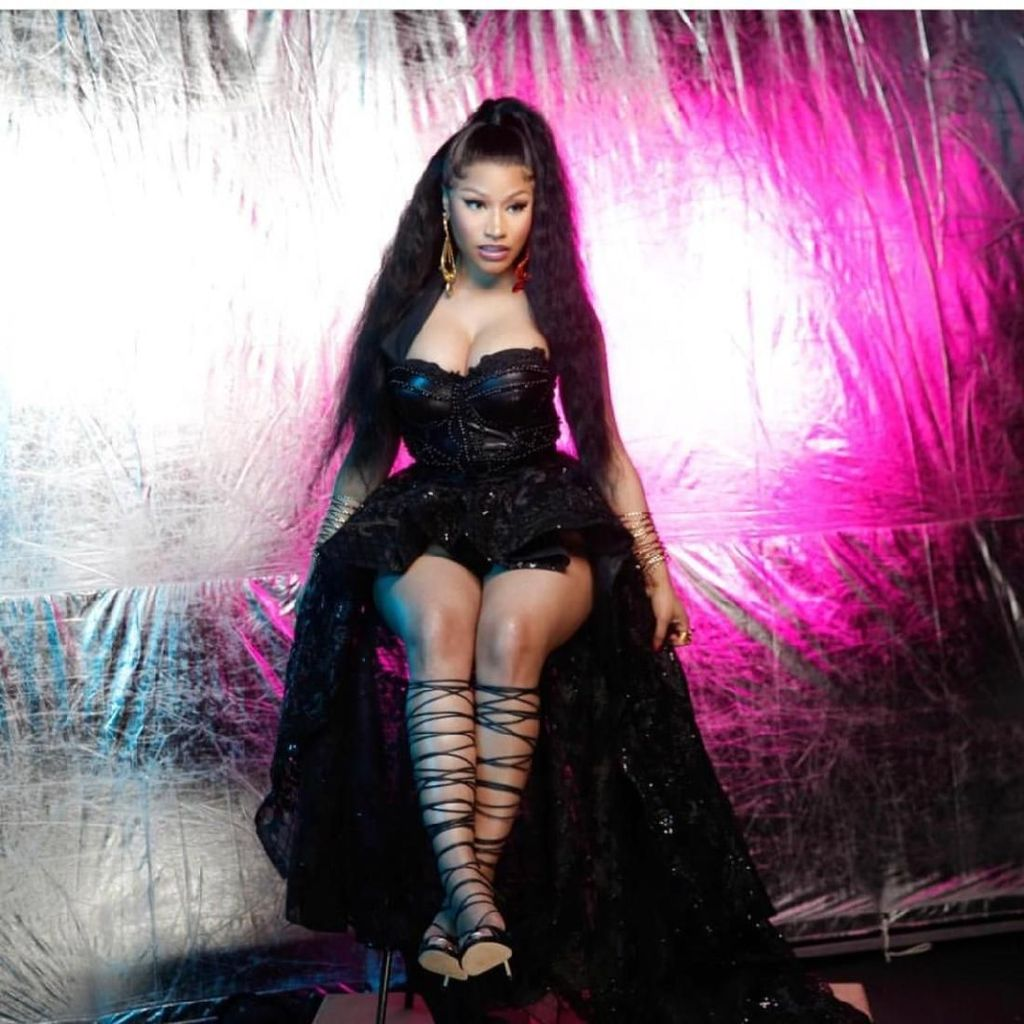 Nicki Minaj Sumbang Suara untuk Soundtrack Film Animasi Spider-Man