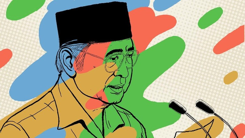 Yusril Ihza, Penulis Pidato untuk Tiga Presiden
