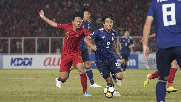Indonesia harus kalah dari Jepang dalam babak perempat final Piala Asia U-19 2018. Foto: AFC Media