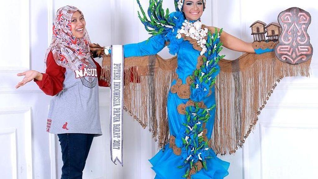 Kisah Annisa, Desainer Langganan Best Costume dari Banyuwangi