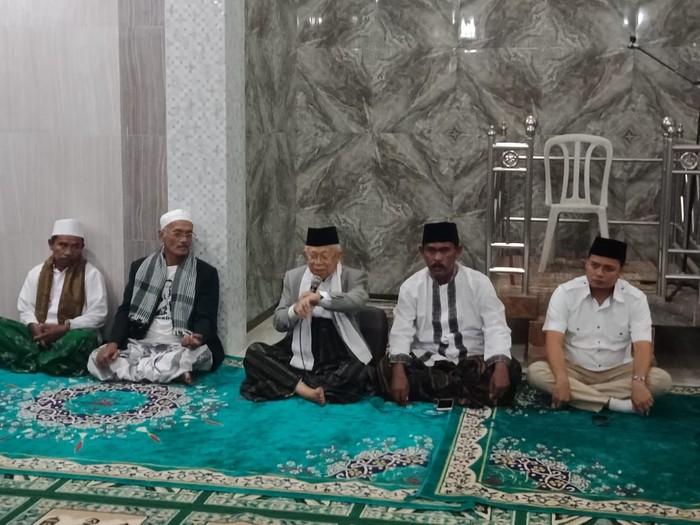 Maruf Amin (tengah). (Yakub Mulyono/detikcom)