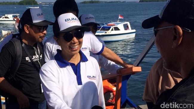Menteri BUMN Rini Soemarno/Foto: Puti Aini Yasmin