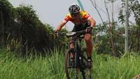 Pebalap Rory Mogot bersaing di kelas Master B. Istimewa/JPM Bike Park.