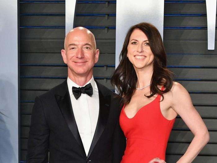 Jeff Bezos dan Mackenzie bezos  Foto: dok. Getty Images