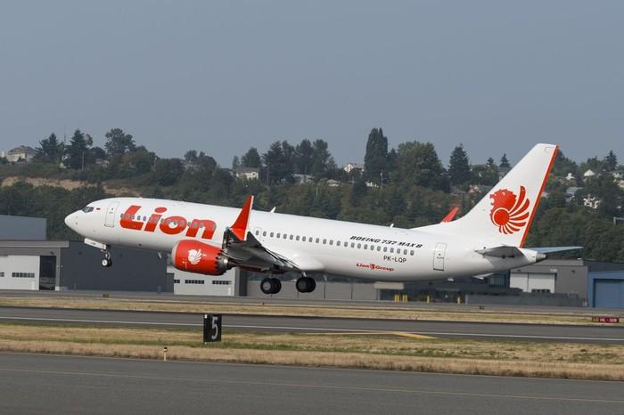 Lion Air PK LQP yang jatuh. (Dokumentasi Lion Air)