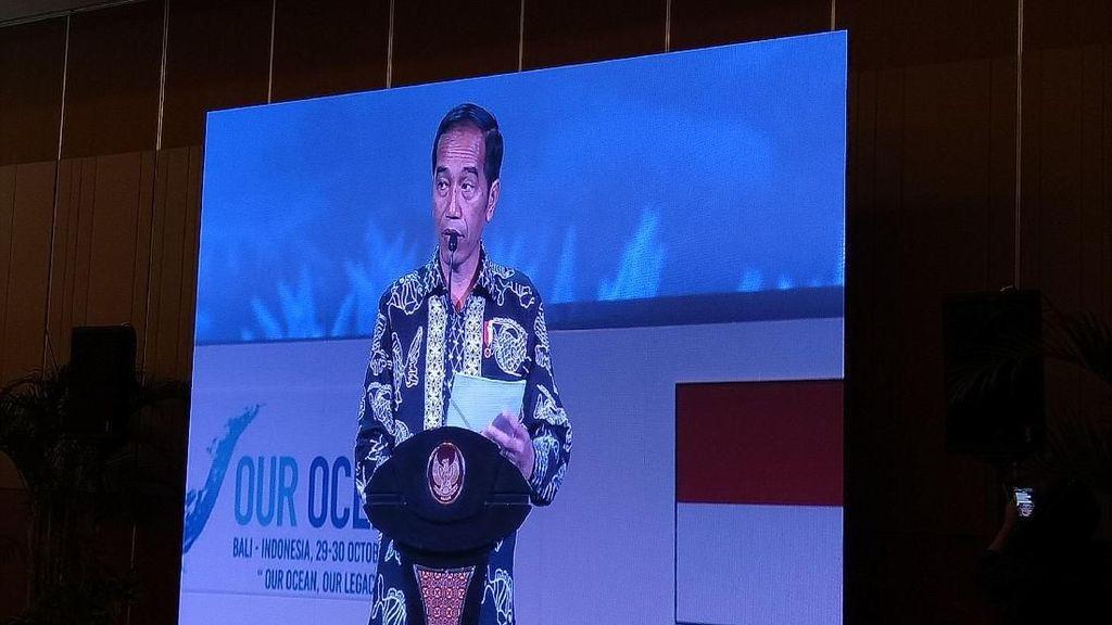 Jokowi Ajak Dunia Hadapi Permasalahan Kelautan Bersama-sama