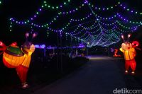 Kelap Kelip Taman Lampion Purwakarta Yang Instagramable
