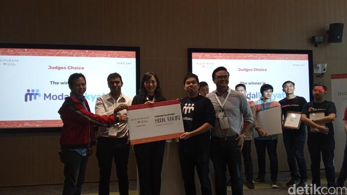 Modal Rakyat, platform peer-to-peer lending yang menyediakan pembiayaan bagi UMKM, sebagai startup pilihan. Foto: detikINET/Virgina Maulita Putri