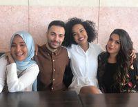Kiri ke kanan: Fatin Shidqia (Indonesia) Kostas Ageris (Yunani), Eden Myrrh (Afrika Selatan) dan Carolina Russi (Italia)