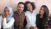 Fatin berada di Mesir untuk acara World Youth Forum dengan penyanyi dari luar negeri seperti Kostas Ageris (Yunani), Eden Myrrh (Afrika Selatan dan Carolina Russi (Italia).Dok. Fatin