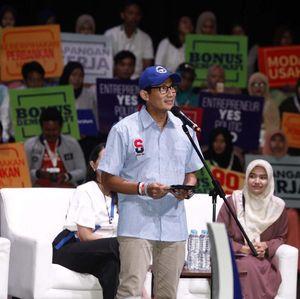 Soal Bangun Infrastruktur Tanpa Utang, Sandiaga: Jadi Hits