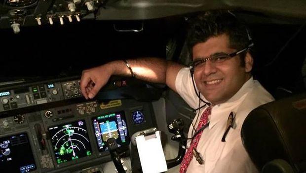 Bhavye Suneja, pilot Lion Air JT 610 /