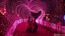 Kelap-kelip Taman Lampion Purwakarta yang Instagramable