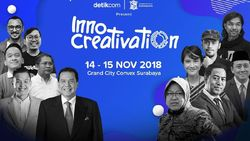 Live Streaming Innocreativation Hari Kedua, Banjir Pembicara Tenar