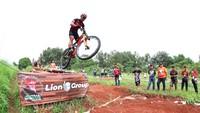 Atlet sepeda Cross Country Zaenal Fanani yang sering menjuarai balap sepeda juga mengikuti JPM Trail MTB Race di kategori Men Pro/Elite. Istimewa/JPM Bike Park.