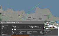 Ini Rute Terakhir Lion Air JT 610 yang Terlacak Sebelum Jatuh