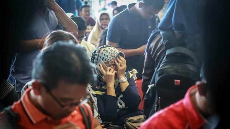 RS Polri Beri Trauma Healing ke Keluarga Korban Lion Air JT 610