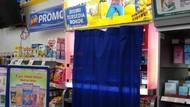 Minimarket di Depok Menutup Produk Penjualan Rokok dengan Tirai