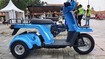 Motor Mini Pengangkut Tahu dan Tempe