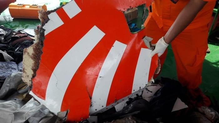 Puing Lion Air JT 610 yang jatuh. (Foto: dok. Basarnas)
