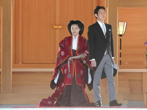 Putri Ayako dan Kei Moriya resmi menikah.