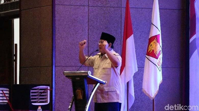 Penjelasan Gerindra soal Pidato Tampang Boyolali Prabowo