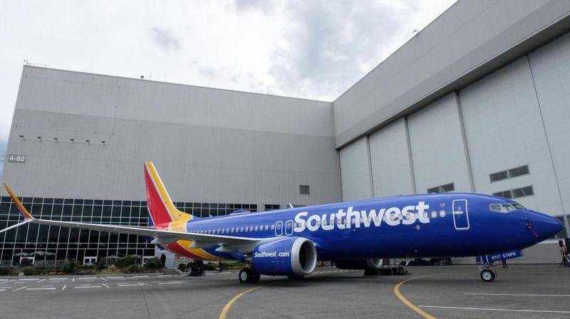 Salah satu maskapai luar negeri yang menggunakan Boeing 737 MAX 8 adalah Southwest Airlines yang bermarkas di Dallas, Texas, Amerika Serikat (Getty Images)