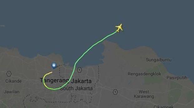 Lion Air Hilang Kontak, Ini Posisi Terakhir Pesawat di Peta
