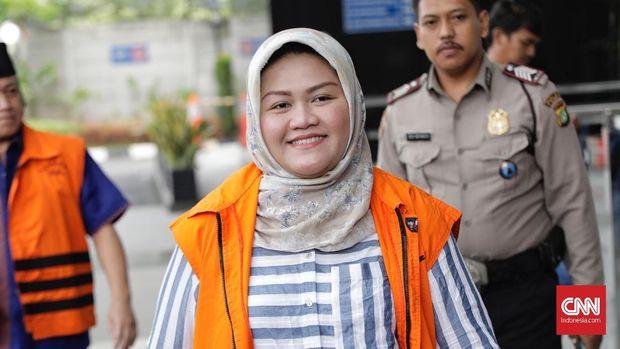Bupati nonaktif Bekasi Neneng Hassanah Yasin.