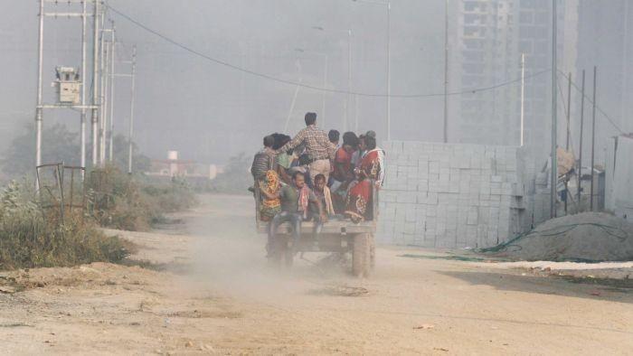 Polusi udara di India. (Foto: ABC Australia)