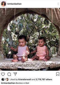 Intip Serunya Liburan Keluarga Kardashian di Bali