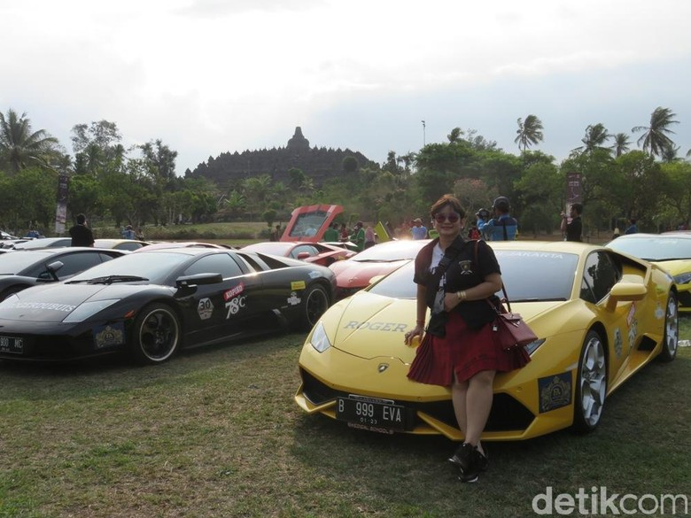 Dokter Kecantikan dan Supercar Lamborghini. Foto: Luthfi Anshori