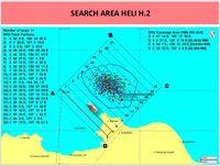 Peta area pencarian