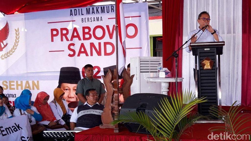 Ini 3 Tips Menuju 2019 Ganti Presiden ala Zulkifli Hasan